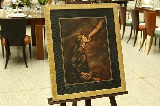 Fotografie od Jana Saudka se ve prospěch nadace vydražila za milion korun.