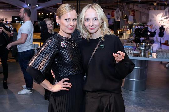 Jana se slovenskou designérkou Lucií Šimončič