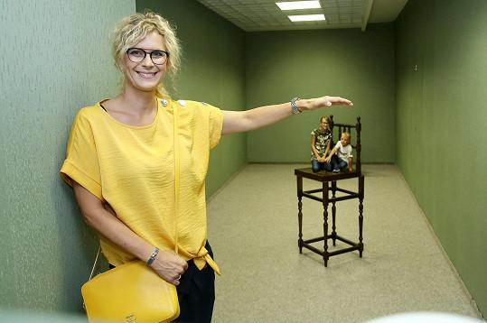 Vyrazila s nimi do Muzea fantastických iluzí.