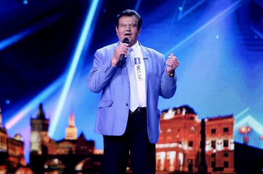 Pátrovič je součástí každého ročníku show Česko Slovensko má talent.