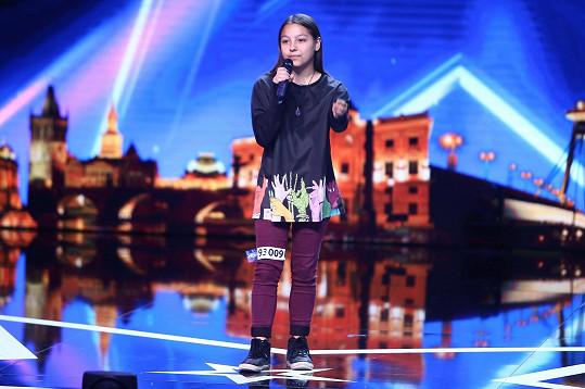 Takto se šestnáctiletá zpěvačka poprvé představila na castingu.