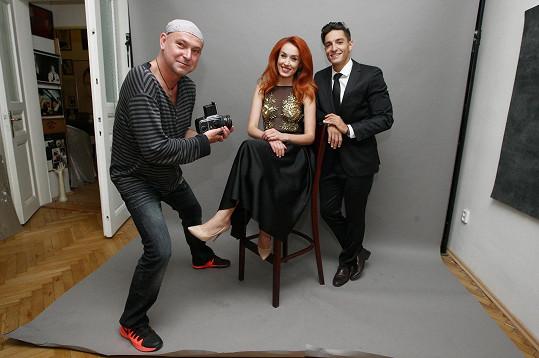 Na promo snímky k soutěži Miss a Mister Deaf World je fotil Jakub Ludvík.