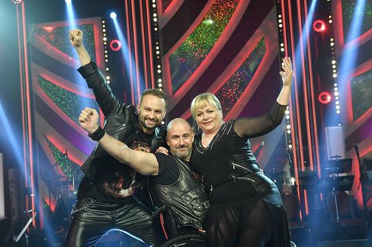 Marek Dědík, Petr Pokorný a Pavla Tomicová tančili na hit kapely Metallica Nothing Else Matters.
