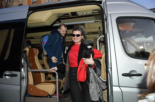 Vladimír Škultéty a Erika Stárková