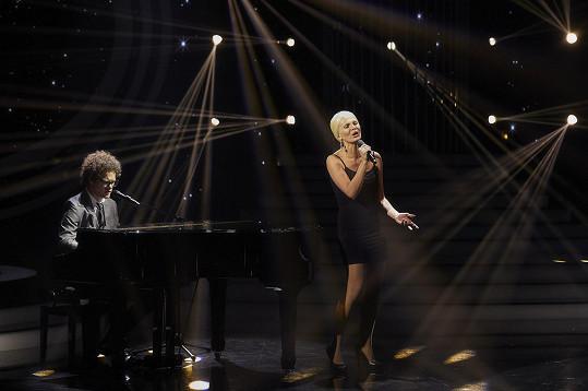 Badinková svým vystoupením jako Christina Aguilera všechny okouzlila.