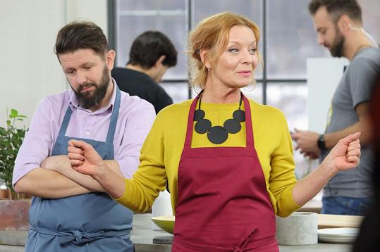 Herečka se díky seriálu naučila nové recepty, které uplatňuje i doma.
