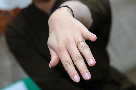 V únoru se Markéta pochlubila zásnubním prstýnkem.
