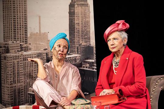 Milena Steinmasslová a Dana Syslová se potkaly na prknech divadla Studio Dva.
