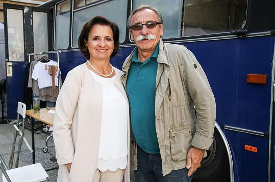 Veronika Freimanová a Pavel Zedníček