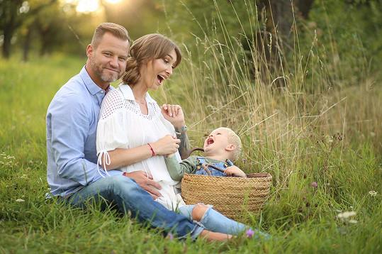 Nafotili rodinné fotky.