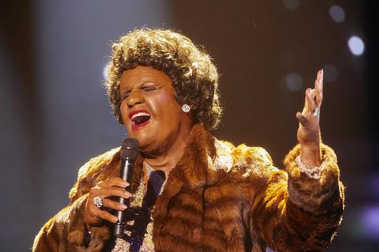 Ján Jackuliak se v prvním díle předvedl jako Aretha Franklin.
