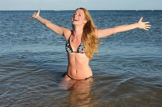 Sabina Křováková si dovolenou v Tunisku užila, než se stihla pořádně spálit.
