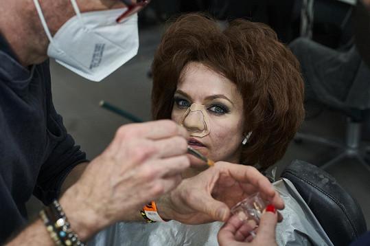 Marta Jandová se na proměnu pořádně připravila.