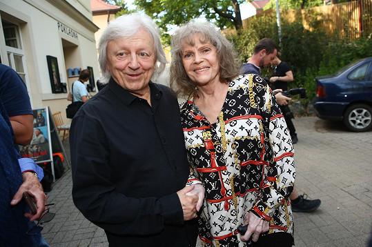 Václav Neckář a Eva Pilarová