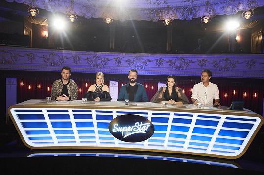 Porota ve složení: Leoš Mareš, Patricie Pagáčová, Marián Čekovský, Monika Bagárová a Pavol Habera