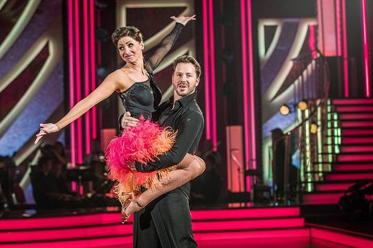 Daniela Šinkorová a Michal Padevět si tímto číslem získali porotu.