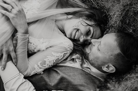 Fotografka má cit pro romantické momentky.