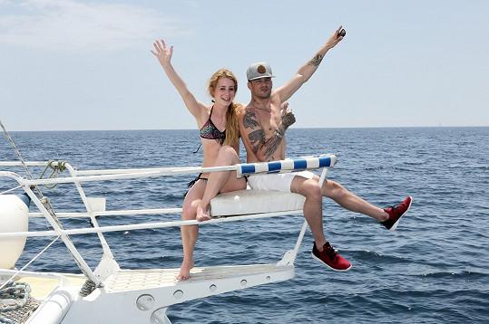 Sámer Issa a Sabina Křováková si užívají dovolenou v Tunisku.