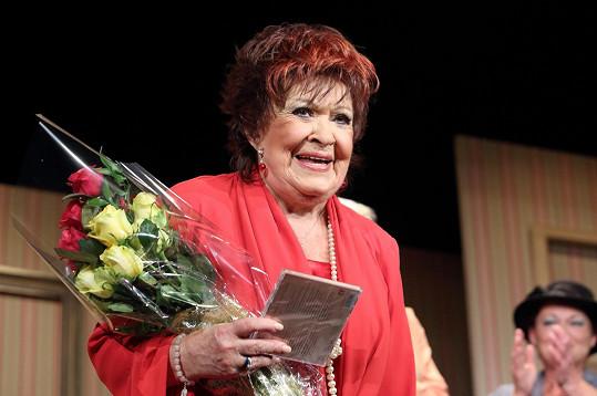 Jiřina Bohdalová dostala dárek k 85. narozeninám.