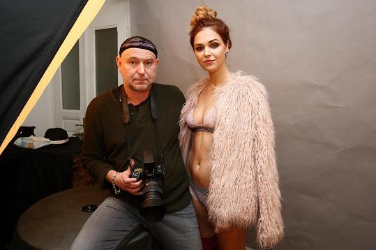 Lucie Kovandová s fotografem Jakubem Ludvíkem