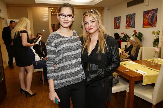 Magda Malá s dcerou