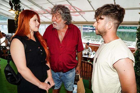 Se zpěvačkou Elis Mraz a Milanem Peroutkou