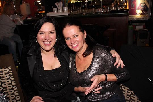 Šárka Rezková a Adriena Sobotová jsou velké kamarádky.