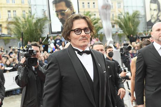 Stejně tak Johnny Depp
