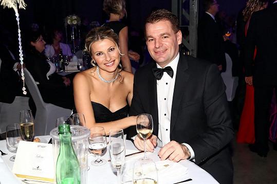 S Tomášem Abrahamem má dvě děti - Tomáše a Barboru