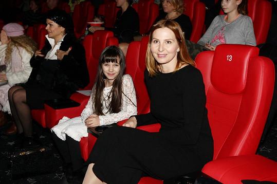 S dcerou Charlottkou ale nějaký ten úsměv přeci jen občas vykouzlí.