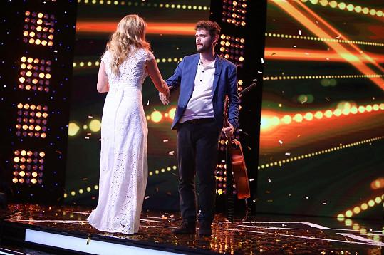 Jeho výkonem byla ohromená Diana Mórová, která Daniela zlatým buzzerem poslala rovnou do finále.