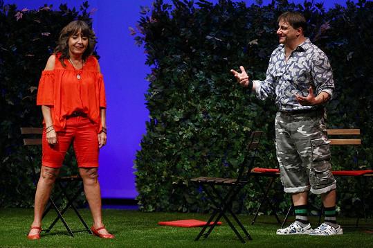 V divadle Kalich spolu hrají ve dvou představeních.