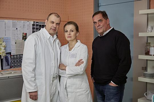 Nyní se na obrazovce objevuje jako doktorka Alena Rytířová z Ordinace v růžové zahradě 2.