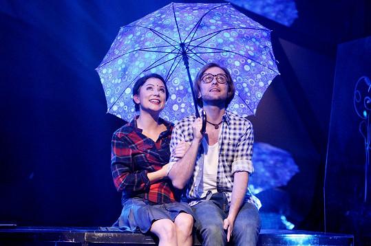 Herečka těhotnou kolegyni zastoupila v muzikálu Atlantida.