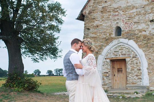 Svatbu měli na krásném místě.