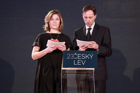 Krobotová a Plesl loni získali České lvy za film Díra u Hanušovic.