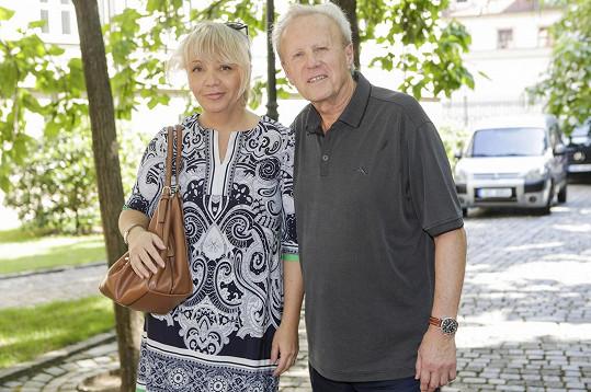Petra Martincová s manželem Jaroslavem Soukupem