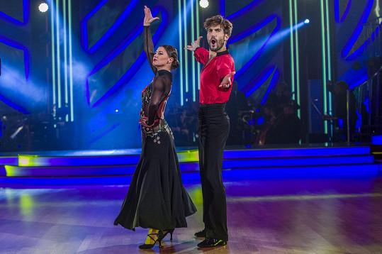 David Svoboda a Veronika Lálová na tanečním parketu