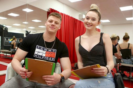 Marie Rosecká a Jan Svěcený, tedy Maru a Jenísek, jak je můžete znát z reality show Like House.