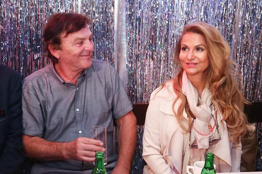 S Pavlem Trávníčkem na tiskové konferenci k novému muzikálu