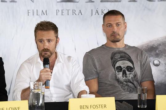 Ben Foster s Petrem Jáklem