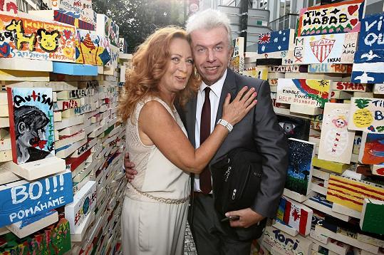 S kolegou Jaroslavem Svěceným