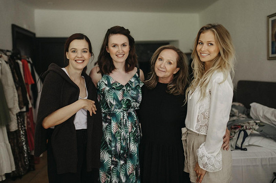 S autorkou projektu Lilií Khousnotdinovou a jejími kolegyněmi