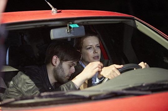 Andrea Růžičková a Libor Stach jako Marika a Adam v Ordinaci