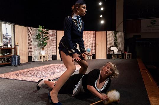 Mottlová si v rozverné komedii zahraje s Miluškou Bittnerovou.