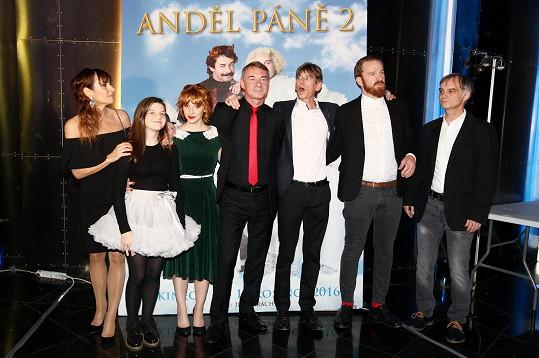 Delegace filmu Anděl Páně 2