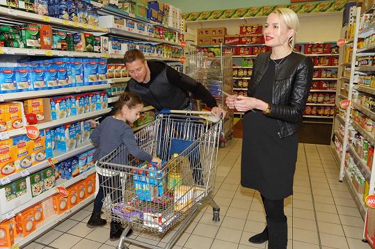 Druhá Vicemiss České republiky 2003 má už vše připravené na příchod druhého potomka, musela jen dokoupit plenky.