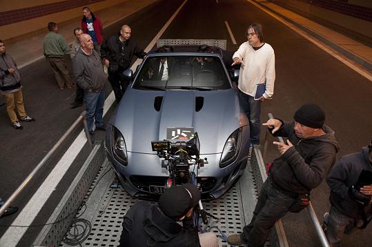 Akční scény se natáčely i v tunelu Blanka.