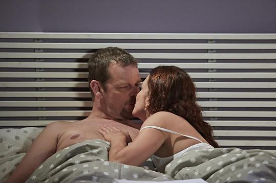 Do postelových scén se herečka nehrne. A do svlékacích už vůbec ne.