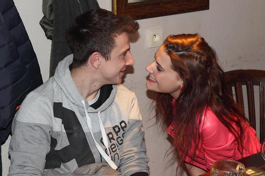 Jejím partnerem je Jakub Štáfek.